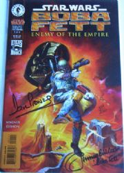 Boba Fett Enemy of the Empire #1 Dynamic Forces Signed Dave Prowse & Jeremy Bulloch DF Star Wars